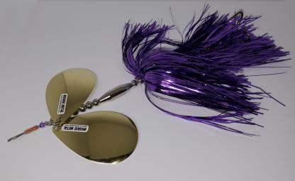 Muskiemetal model 5 trollen snoek