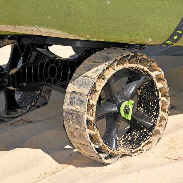 Hollandlures C-Tug-SandTrakz-Cart strand detail