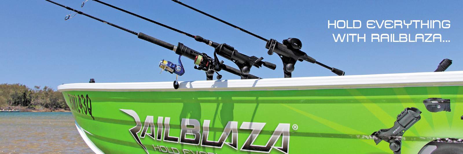 hollandlures Railblaza holds everything