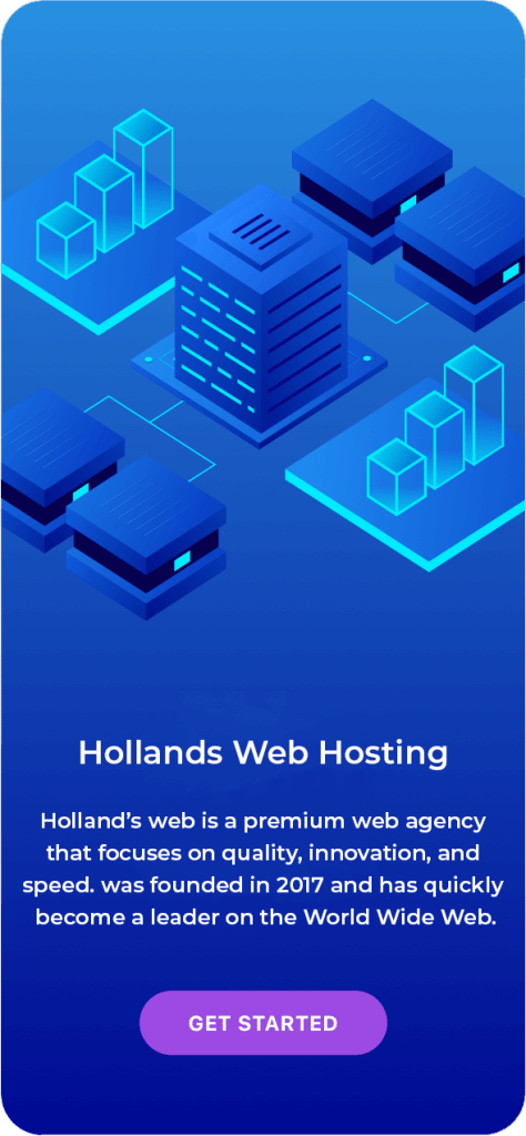 hollands web hosting