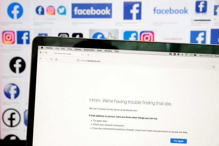 Facebook, Instagram and WhatsApp down in global outage