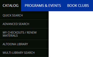 catalog menu image