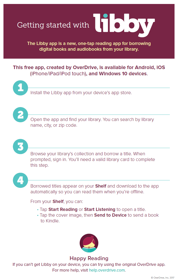 Meet Libby, OverDrive's New eReading App | Hollidaysburg