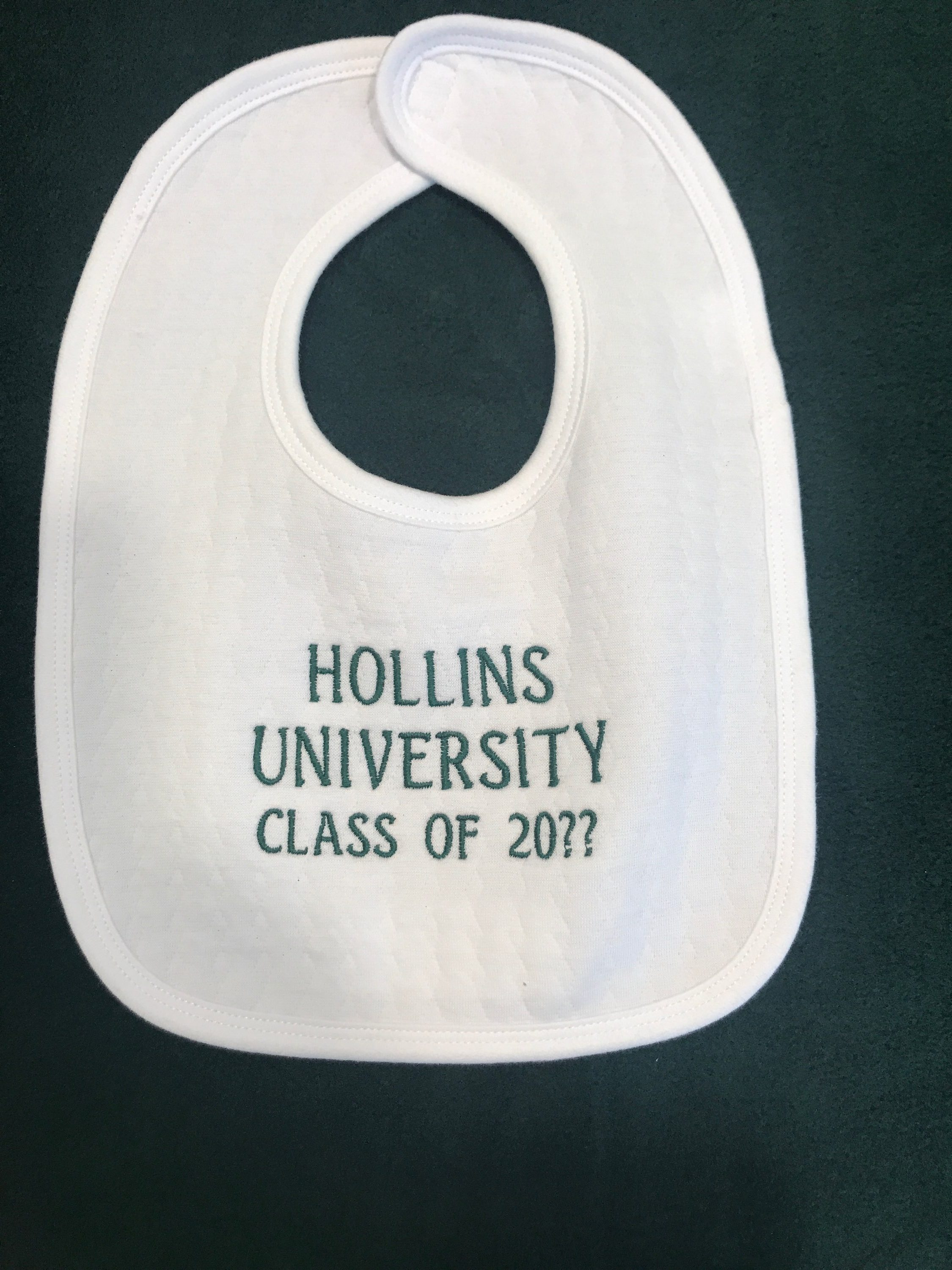 Bib Hollins University Class of 20??
