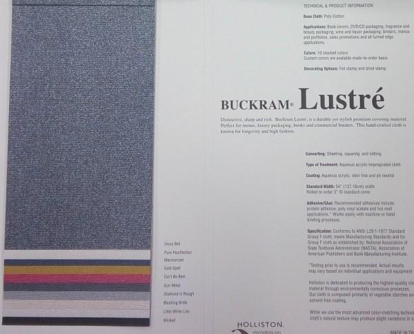 Buckram Lustre