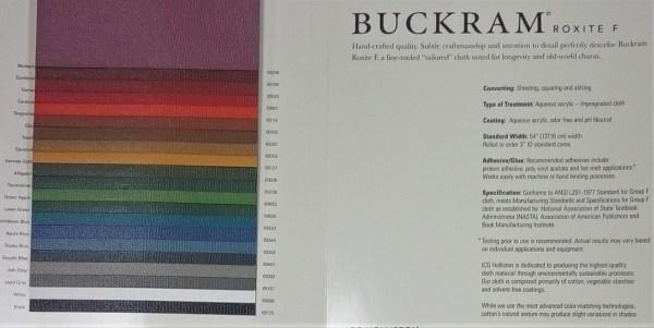 Buckram Roxite® F