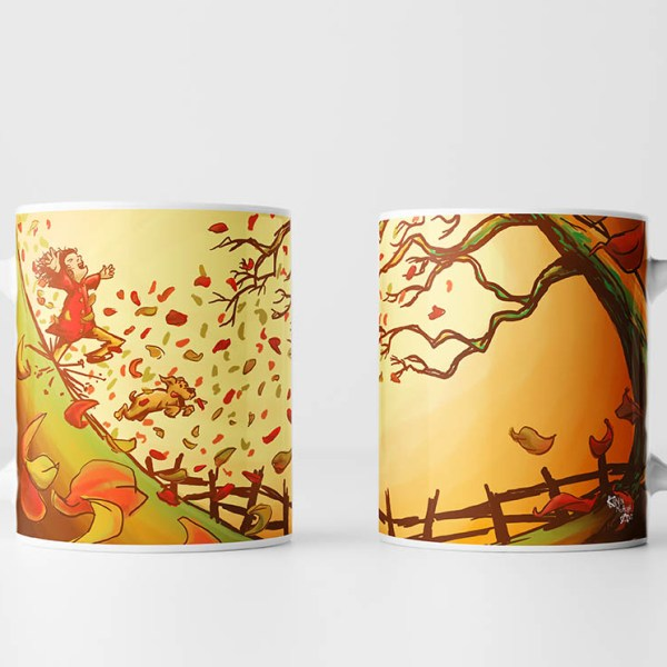 Autumn Has Arrived Mug