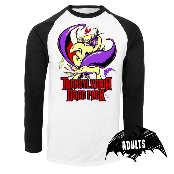 The Transylvania Drac Pack Baseball T-Shirt
