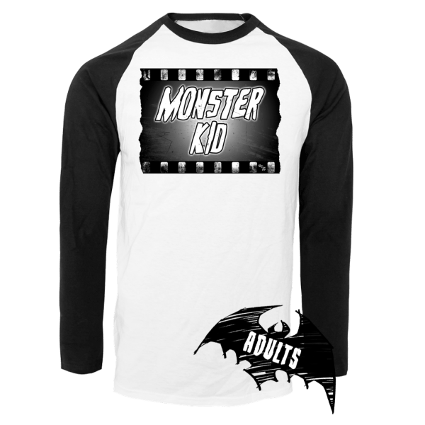 Monster Kid Baseball T-Shirt
