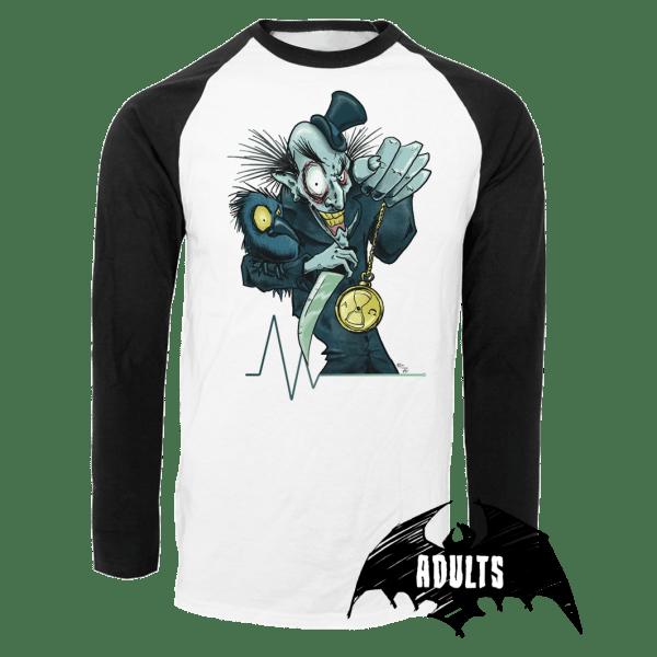 Time's Up Baseball T-Shirt