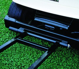 golf ball picker mounting brackets