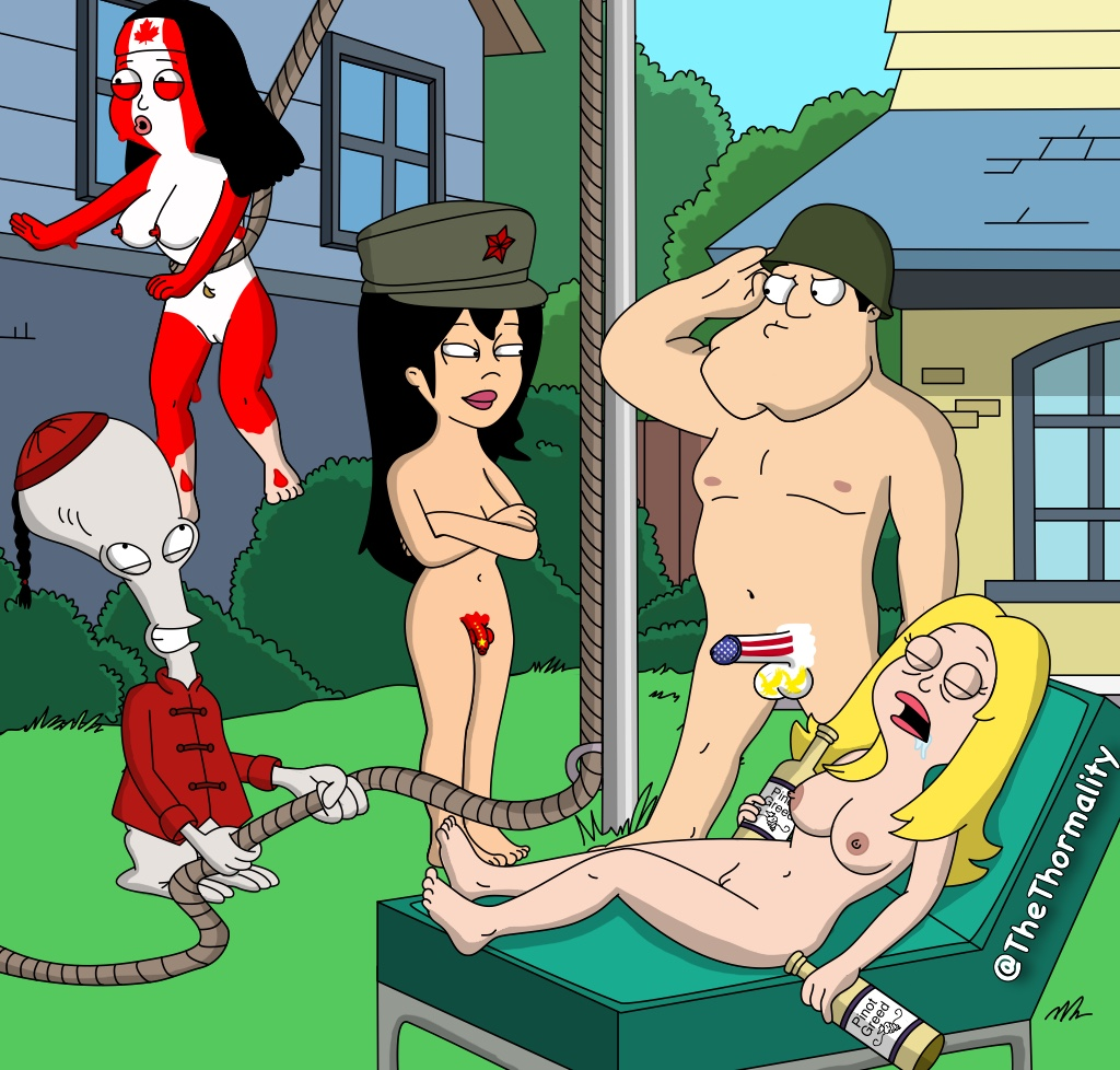 American dad naked pictures
