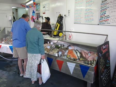 One of the fish shops