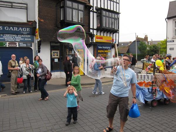 Bubble extravaganza