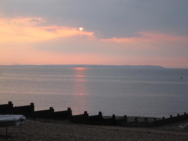 Sun's setting