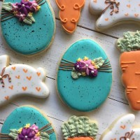Spring Cookies + Egg Tutorial