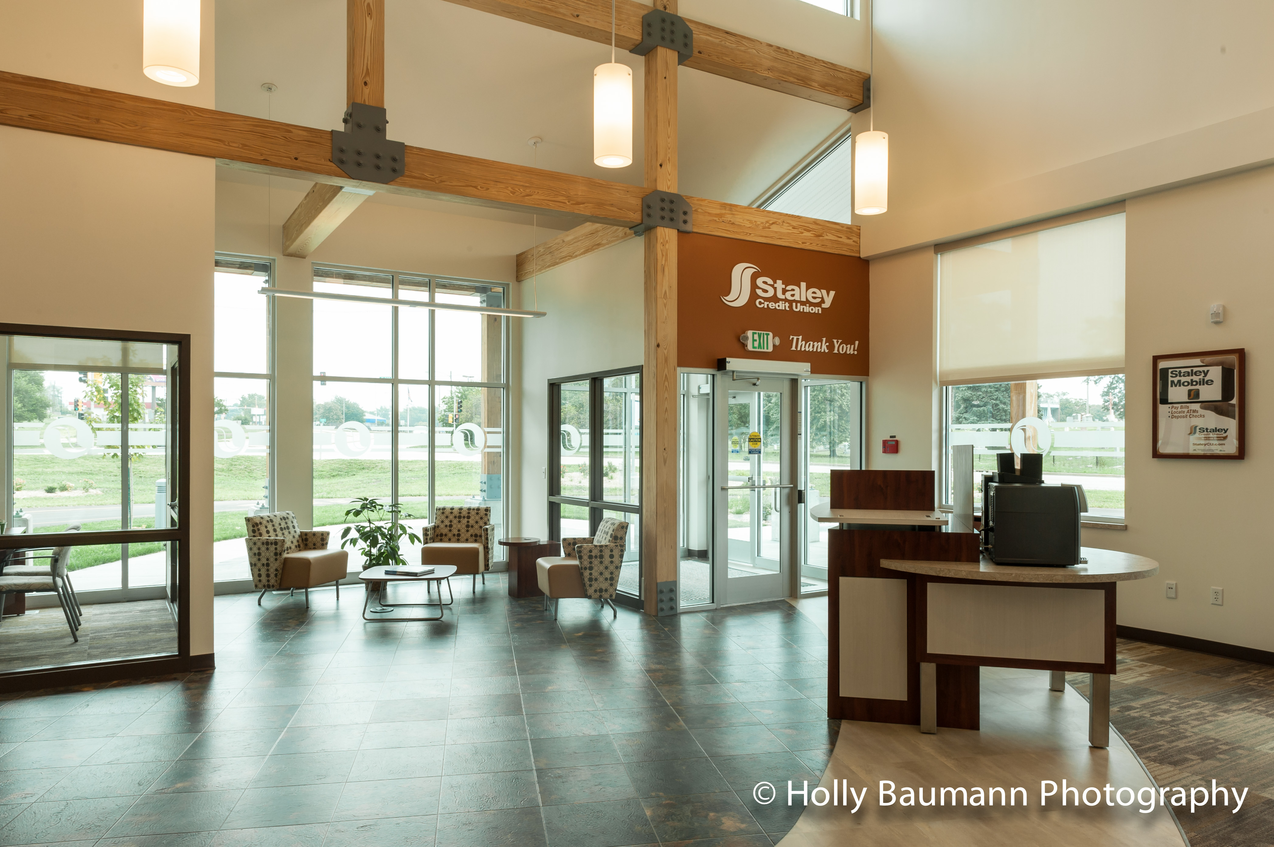 New Staley Credit Union Branch in Decatur IL  Interiors   Exteriors     20140821 BlogPost LaMacchiaGroup StaleyCreditUnion 1