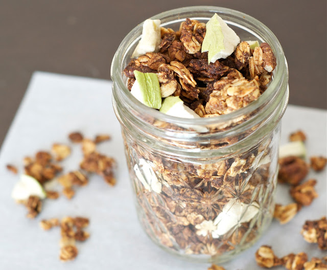 Apple Pie Lactation Granola