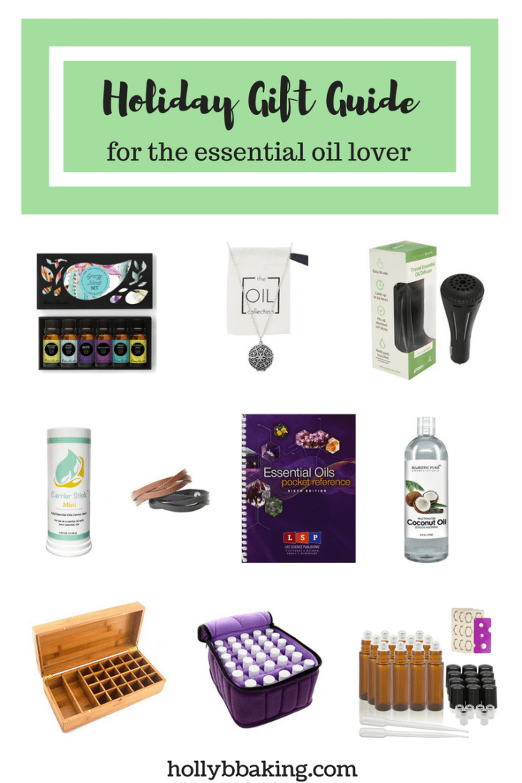 Holiday Gift Guide for the Essential Oil Lover