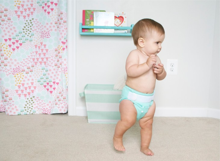 thirsties all in one cloth diaper