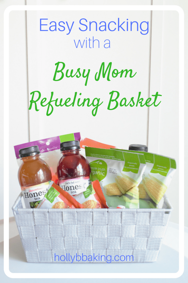 Easy Snacking with A Busy Mom Refueling Basket