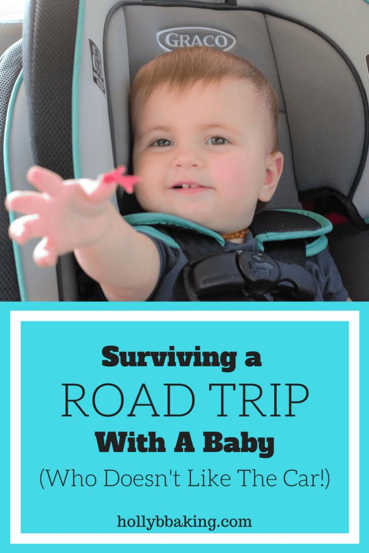 Surviving a Road Trip with a Baby (Who doesn't like the Car)