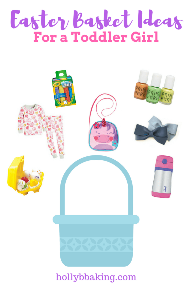 Easter Basket Ideas for a Toddler Girl