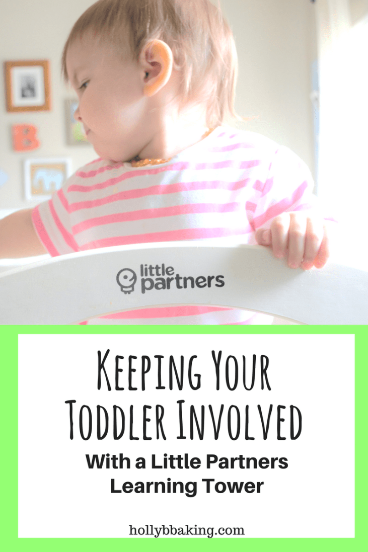 Keeping Your Toddler Involved with the Little Partners Learning Tower