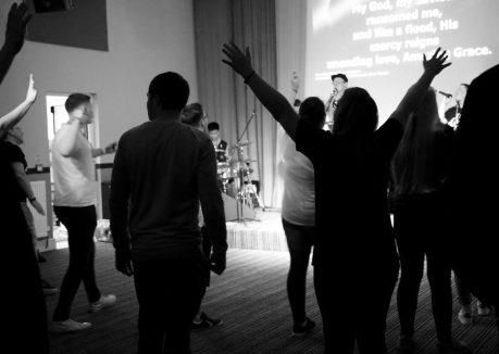 Hollybush Youth Camp worship