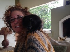 I've got a monkey on my shoulder!