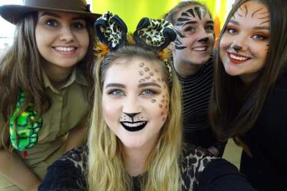 Jungle Themed Charity Day