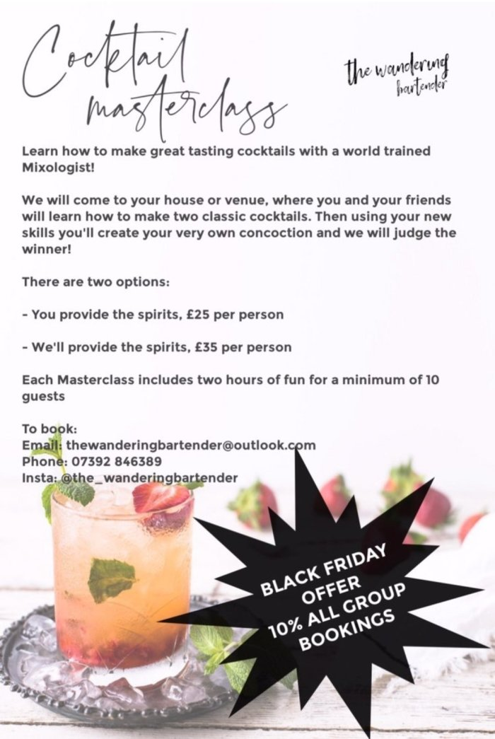 The Wandering Bartender Black Friday Deals