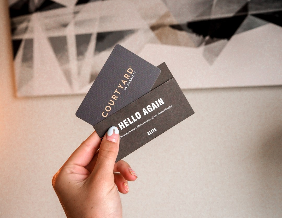 Courtyard by Marriot Hotel Key Card