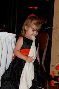 John's granddaughter steals the show at Auntie's wedding!