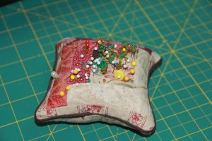 Yes - I do use the pin cushion, and I do have friends that DO NOT approve!