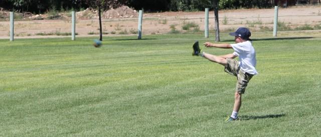 Nice kick!