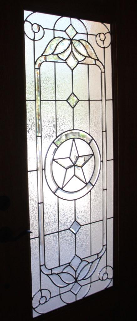 The front door - God Bless Texas!