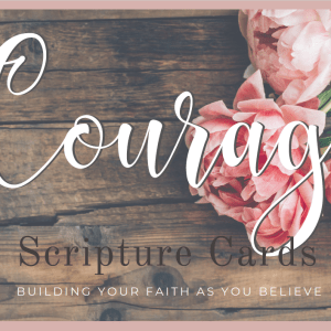Courage Scripture Cards Photo