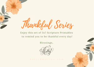 Thankful Thanksgiving Holly Murray Author Editor