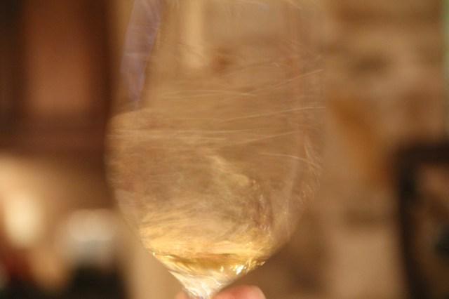 We learned a proper wine swirl is all in the wrist