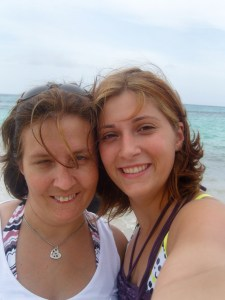 Momma and her other beautiful daughter!