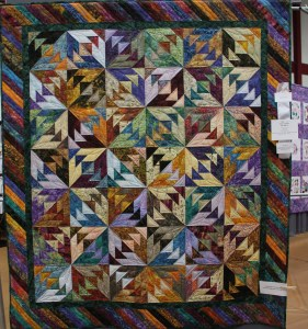 Love the colors for the Wild Goose Chase - pattern by quiltworx.com