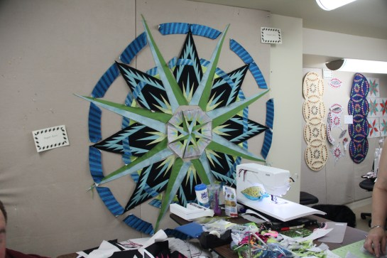 Quilting from the Heart in Camrose, Canada has me lusting after the Kaufman Radiance Silks!
