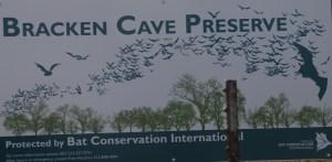 Bracken Cave Preserve is part of the Bat Conservation Inc program 501c3