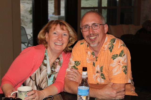 John and Jeanine - what a happy fun couple!  So glad we live close enough to do stuff together!