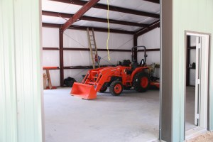 The new toy - we might need a bigger barn!