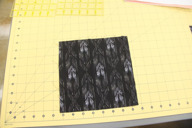 """8 1/2"""" square - you need a total of 8 of these in various colors per your color layout.  These are used for paper-piecing so they can be approx. 8 1/2"""""""