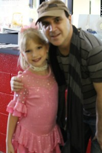 Little Toot with her coach - Grant
