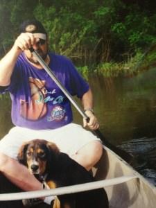 Canoeing on Armand Bayou