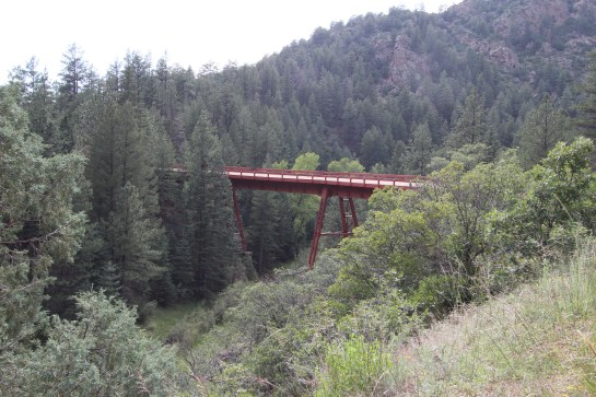 Not an original trestle - very pretty though....